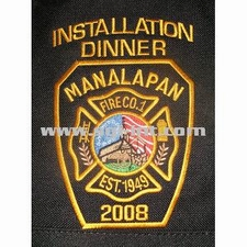 Installation Dinner Embroidery Digitizing