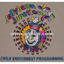 Jellybean Junction Embroidery Digitizing