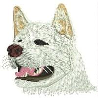 Dog Embroidery Design # DD5