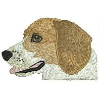 Dog Embroidery Design # DD7