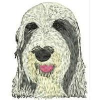 Dog Embroidery Design # DD9