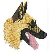 Dog Embroidery Design # DD11