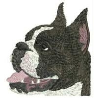 Dog Embroidery Design # DD20