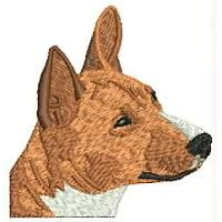 Dog Embroidery Design # DD2
